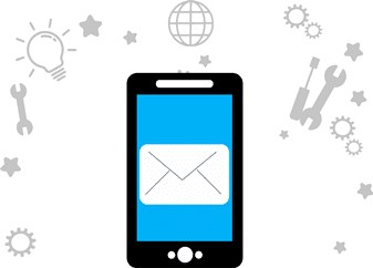 sms marketing system icon
