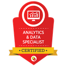 Analytics and Data Specialist Certified